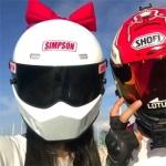 2021最新好看的戴头盔的情侣真人头像大全