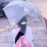 打伞女孩背影唯美头像 雨伞女生头像可爱真人