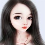 高冷气质美女手绘头像 唯美可爱手绘女头图片