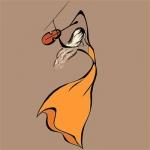 文艺范卡通女生头像 简约风手绘图照片